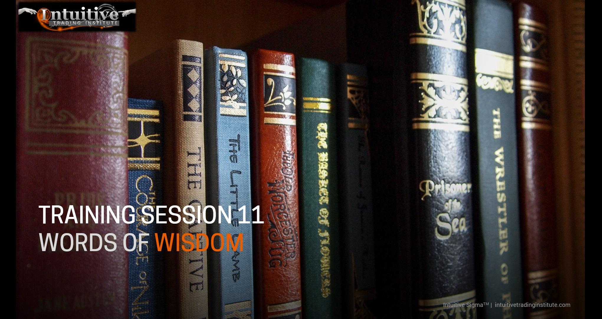 Trainining Session 11